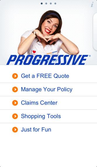 Progressive Free Quote Captivating Progressive Mobile App